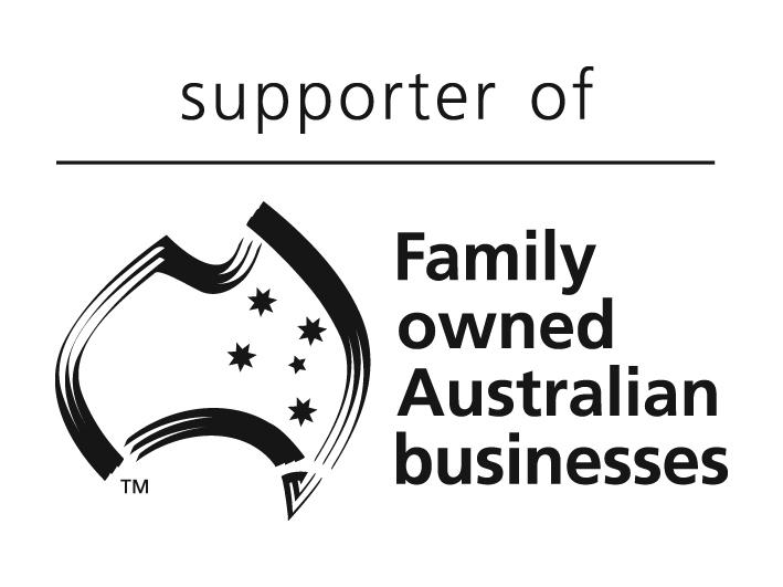 Supporter of Family owned Australian businesses