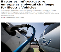 Batteries, Infrastructure emerge as a pivotal challenge for Electric